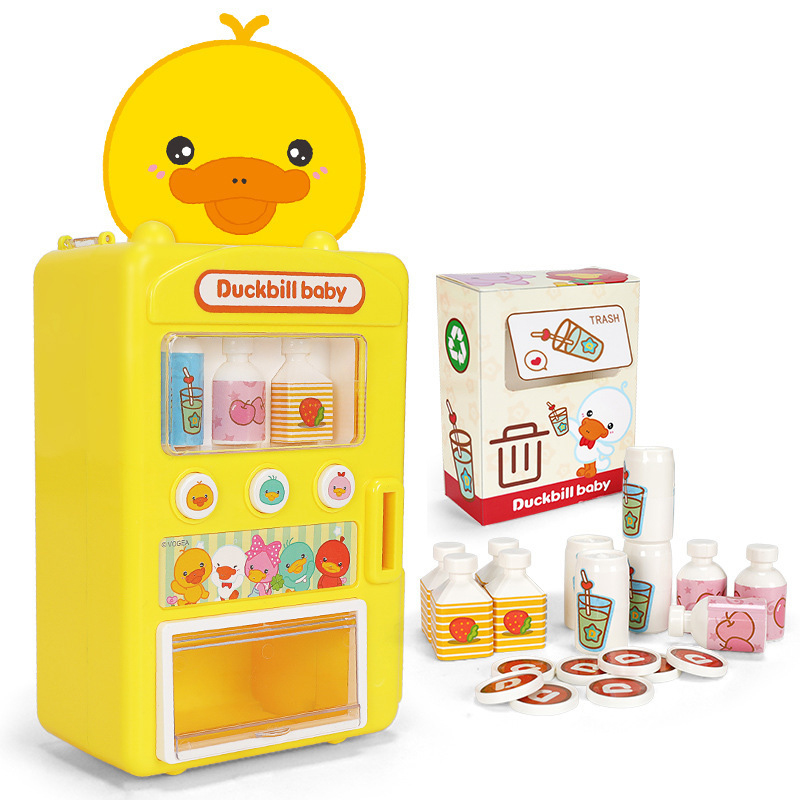 2019 Children's Toy Vending Machine Simulator Shopping House Set Baby Game Toys Give Children The Best House Birthday Gifts