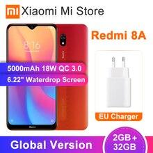 """Глобальная версия Xiaomi Redmi 8A 8 2 Гб оперативной памяти, 32 Гб встроенной памяти, смартфон 6,2"""" Snapdargon 439 Octa core 5000 мАч 12MP AI Камера мобильного телефона"""