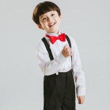 Коллекция года, длинное Прямое пальто костюмы для мальчиков на свадьбу, детская одежда для выпускного бала, комплекты одежды для детей Классические костюмы для мальчиков, платья