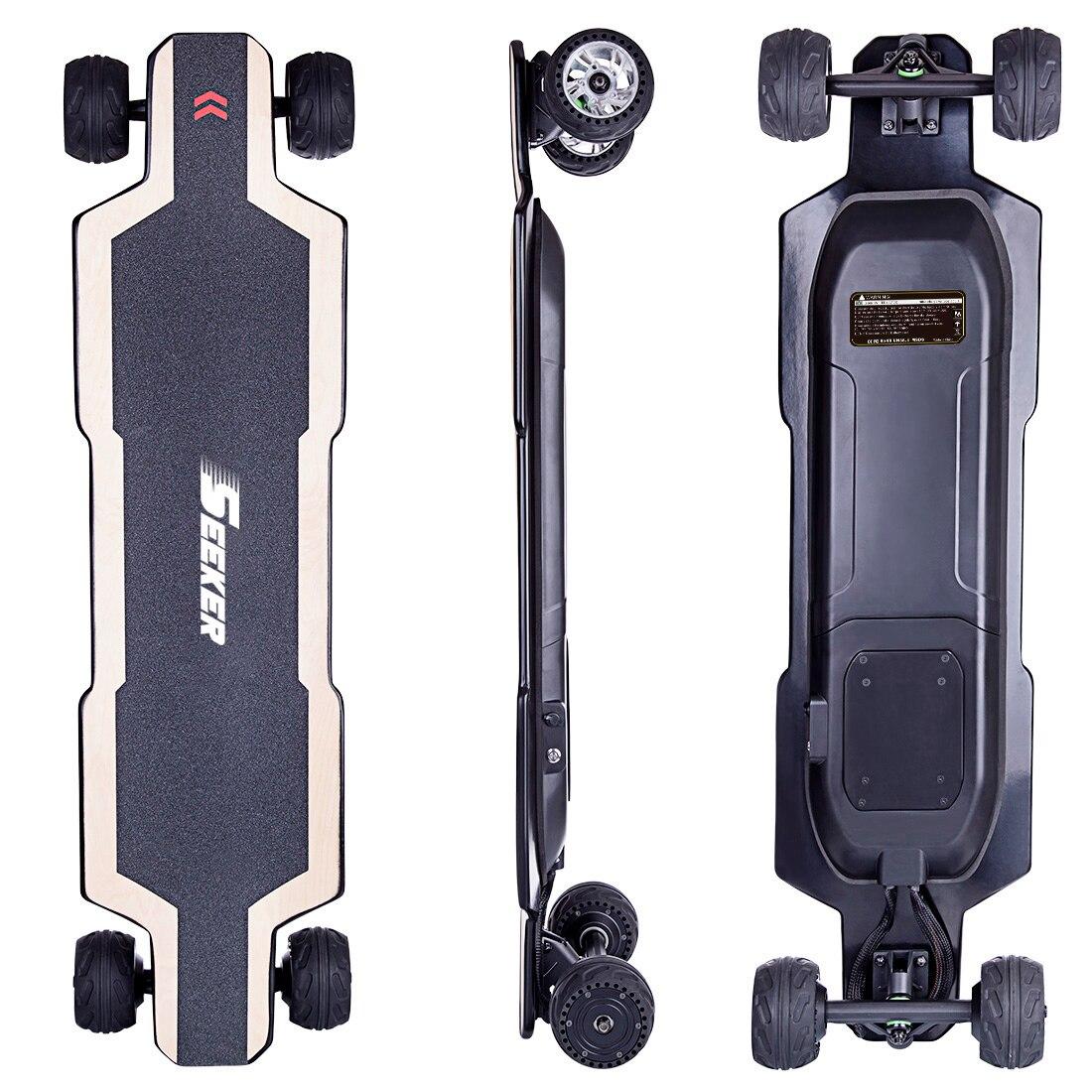 SEEKERS BRT-01 4-wheel Electric Skateboard - AU Plug