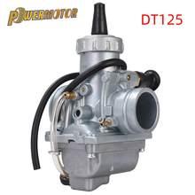 Motocicleta 28mm carburador mikuni carburador carb para yamaha dt125 dt 125 suzuki tzr125 rm65 rm80 rm85 dt175 rx125 bicicleta da sujeira