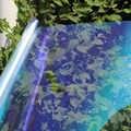SUNICE VLT 80% ventana del coche tintado camaleón vidrio tintado Auto coche casa Decors autoadhesivo Nano película cerámica Auto Tint Solar Film