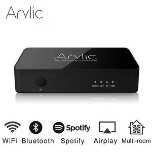 Arylic S10 WiFi And Bluetooth 5.0 HiFi Stereo Audio Receiver Adapter With Spotify Airplay DLNA Internet Radio Multiroom Free App(China)