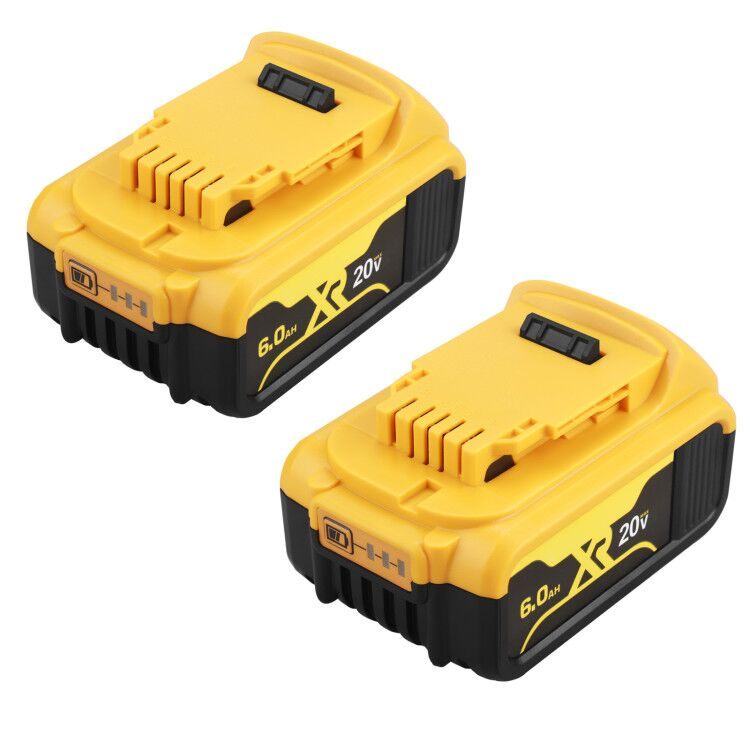 Сменный аккумулятор DCB200 20 в 6000 мАч, совместимый с инструментами Dewalt 20 в 18 в и 20Vot Max XR для Dewalt