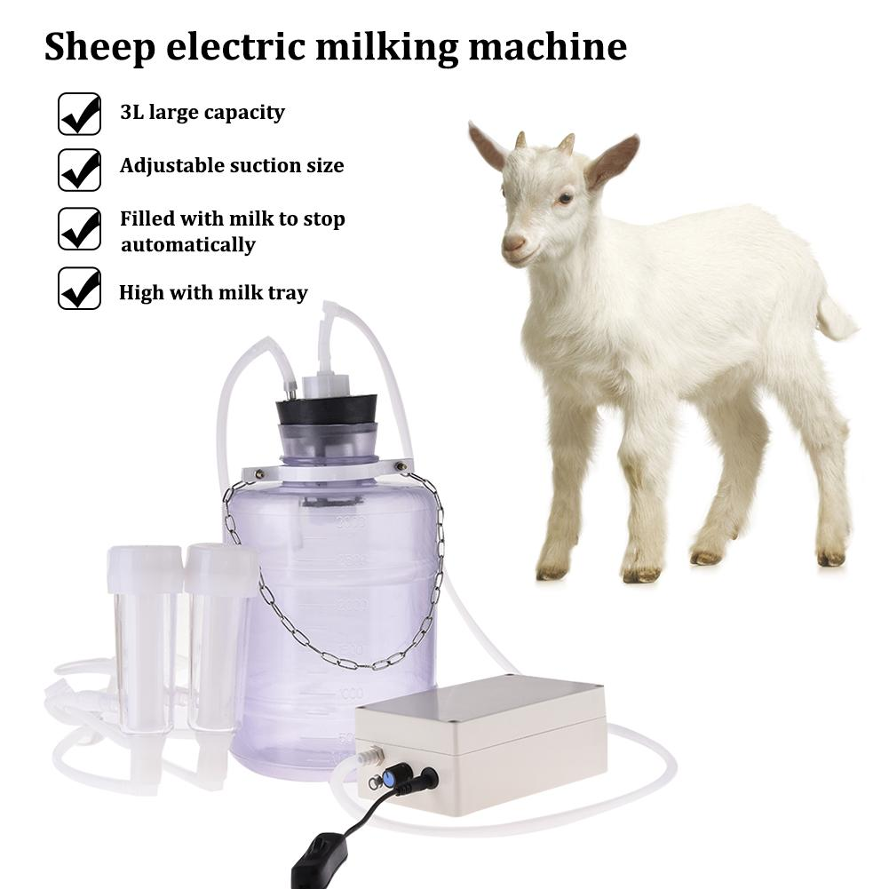 Upgraded Electric Breast Pump Milk Sheep Small Milking Machine 3L High Configuration Household Adjustable Suction Milk Tray
