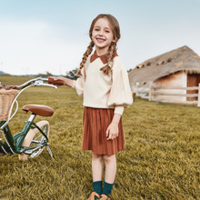 Spring Autumn Suits Korean Style Middle-aged Girls Sweater + Skirts Two-piece Suit Sets Clothing Two Piece Outfits