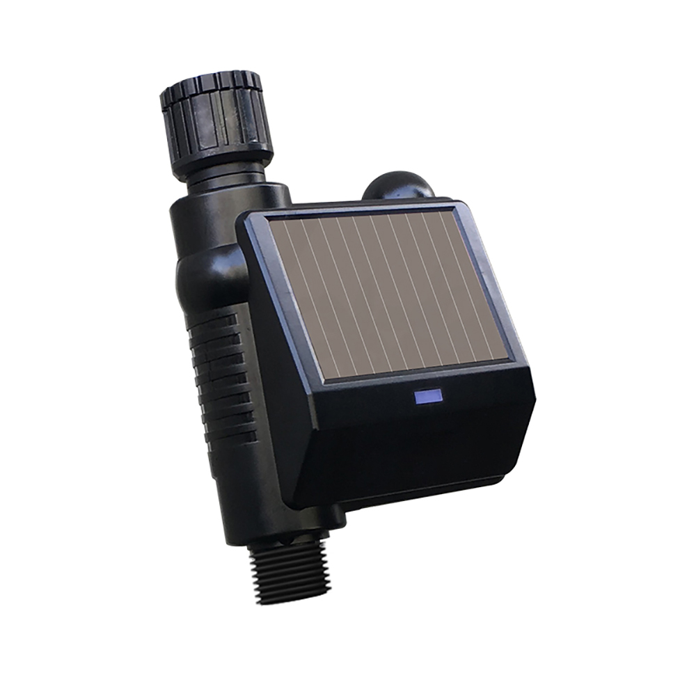 Smart Water Management System Smart Water Valve Solar-Powered Automatic Watering System Smart Water Timer Irrigation Controller