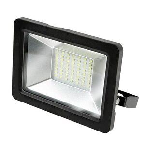 Gauss Прожектор LED 50W COB 285х284х58mm 6500К черный IP65 613100350