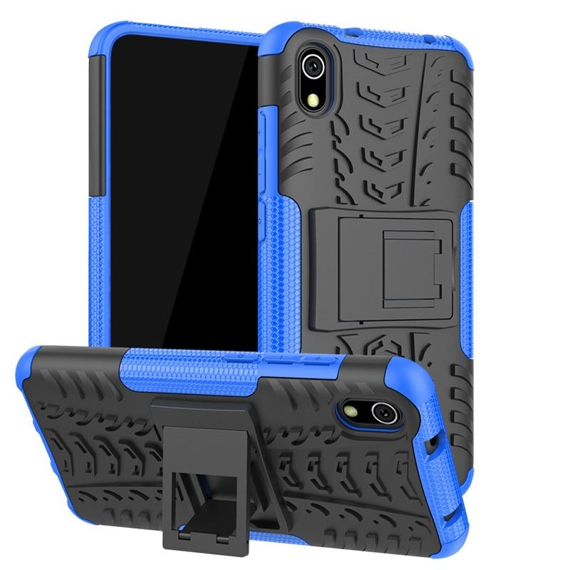 """For Xiaomi Redmi 7A 5.45"""" CASE Hybrid Armor Soft Silicone Bumper Cover For Redmi 7 A Redmi7A Note 9s 8 Pro 8T K20 K30 Full Coque(China)"""