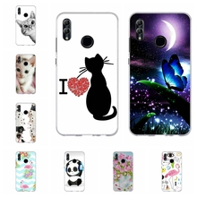 For Huawei Honor 6A 8X Case Soft TPU Silicone 9 Lite Cover Butterflies Pattern 10 Capa