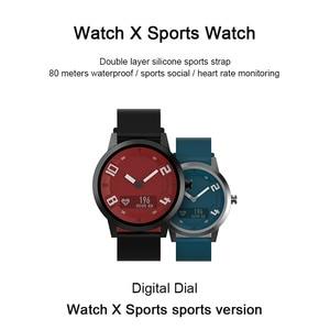 Image 3 - Lenovo שעון X לב שיעור דם לחץ Bluetooth Smartwatch ספיר מראה ספורט שעון מתכת IP68 עמיד למים עבור גברים נשים
