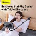 Baseus Rotary Adjustment Lazy Holder Universal Desktop Bedside Stand for iPad Mobile Phone 4.7-12.9 inches Desktop Phone Holder