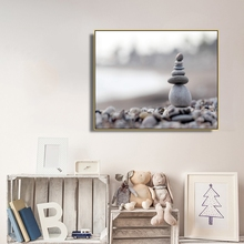 Laeacco Stone Posters and Prints Nordic Style Painting in Canvas Wall Art Living Room Decoration Home Decor Accessories