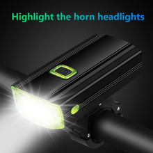 Hot USB Bicycle Light LED Bike Light Horn Waterproof Rechargeable Front Cycling Lamps Torch Cycling Flashlight Bike Accessories uranusfire usb rechargeable bike light front handlebar cycling led light battery flashlight torch headlight bicycle light