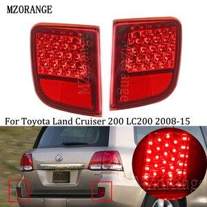 Rear Bumper Light For Toyota Land Cruiser 200 LC200 2008 - 2015 Rear Tail brake light Fog Lamp Fog Light Warning Light