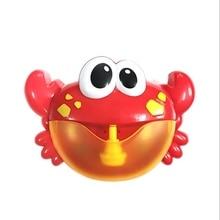 Дети пузырь ванна компаньон, счастливый пузырь краб, музыка пузырь машина ванная комната игрушки для ванной