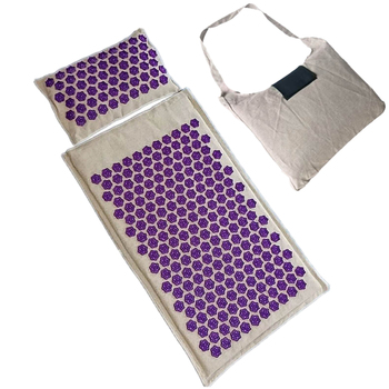 Back Massager Mat Pillow cushion Acupressure Mats Yoga Mat Relieve Back Neck and Sciatic Pain cushion