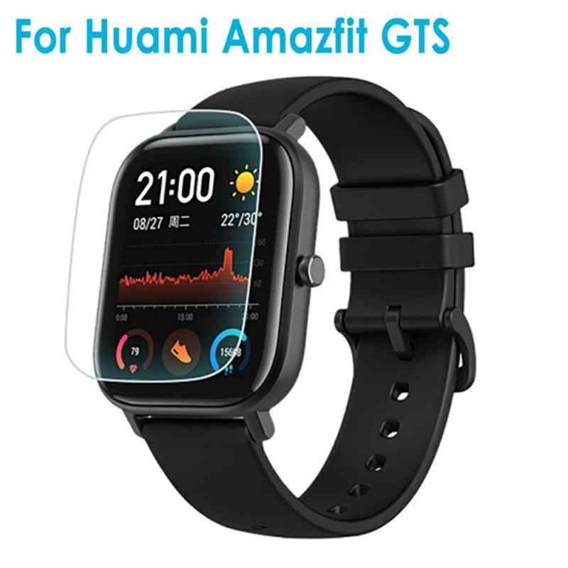 أنتيبصمة لينة غطاء كامل هيدروجيل فيلم ل شاومي Huami Amazfit GTS ساعة سامسونج عالية حساسية اللمس الذكية الفرقة