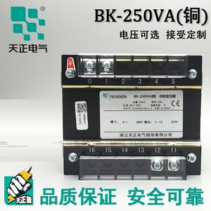 Tianzheng Electric BK-250VA all copper control transformer 380 220 110 36 24 12 6 AC