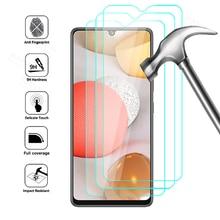 Закаленное стекло для Samsung Galaxy A42 5G, защитная пленка для экрана SamsungA42 Sumsung A 42, защитное стекло, 3 шт.