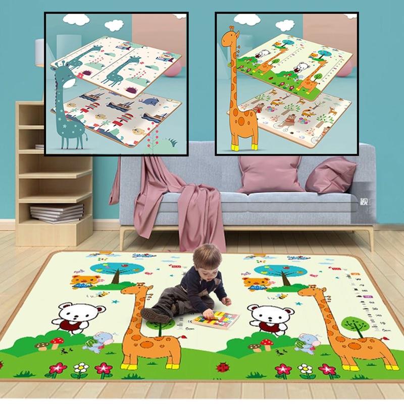 새로운 아기 놀이 매트 Xpe 퍼즐 매트 보육원에서 교육 어린이 카펫 등산 패드 키즈 러그 Activitys 게임 완구 소프트