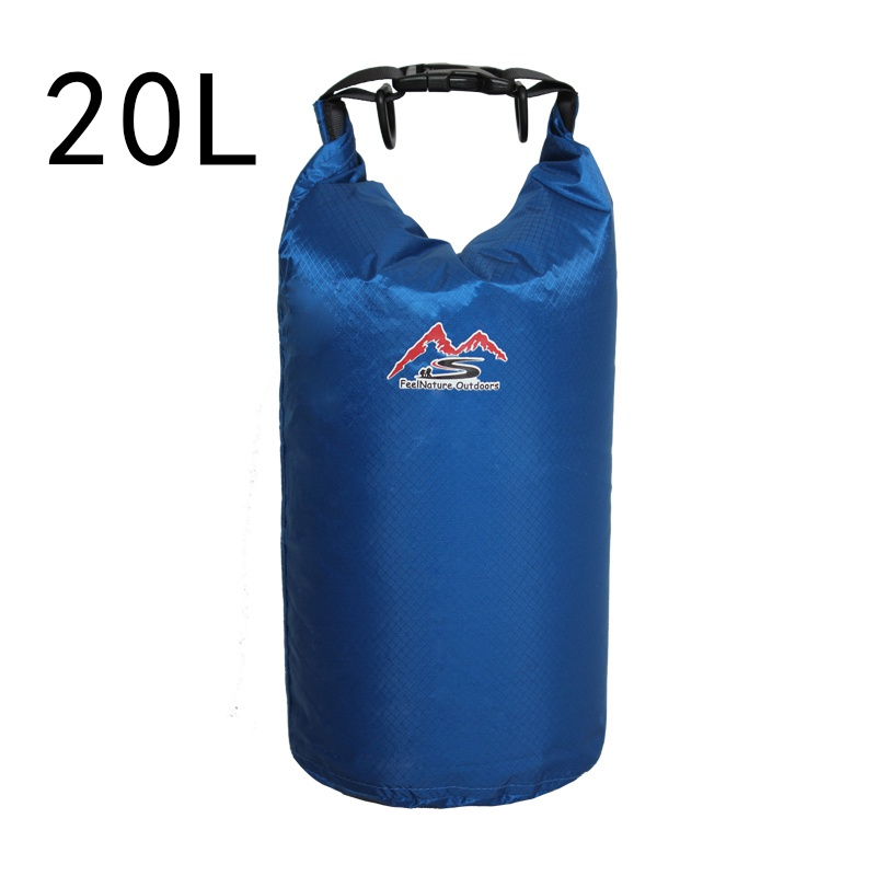 5L/10L/20L/30L Outdoor Swimming Waterproof Bag Camping Rafting Storage Dry Bag With Adjustable Strap Hook