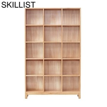 Dekoration Home Madera Cabinet Bois Meuble Rangement Vintage wooden Decoration Furniture Retro Bookcase Book Case Rack