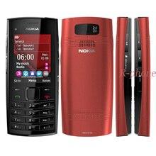 Rinnovato Originale Nokia X2 02 Dual Sim Del Telefono Cellulare Symbian OS Sbloccato Il telefono Delle Cellule di Trasporto libero