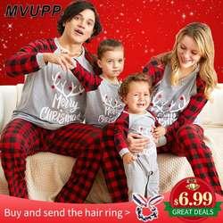Рождественская семейная Пижама, комплект для мамы, дочки, папы, сына, комбинезон, одежда для сна, одинаковые комплекты для мамы и меня