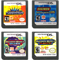 DS Video Game Cartridge Console Card Digimonn World Series For Nintendo DS 1