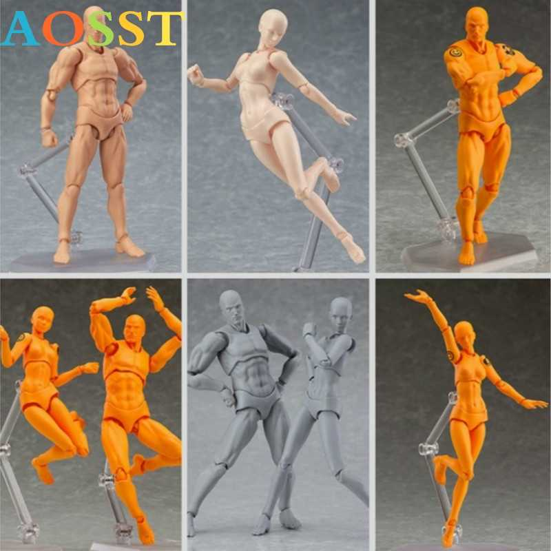 Anime Archetype Hij Ze Ferriet Figma Movable Body Feminino Kun Body Chan PVC Action Figure Model For a Collectible Garage Kit