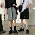 Harajuku aliens harajuku vintage casual dropshipping solto grande em linha reta bf pantalones jogger bicicleta shorts feminino