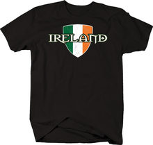 Ireland Flag Dublin Beer Fighting Irish Guinness Luck Tshirt(China)
