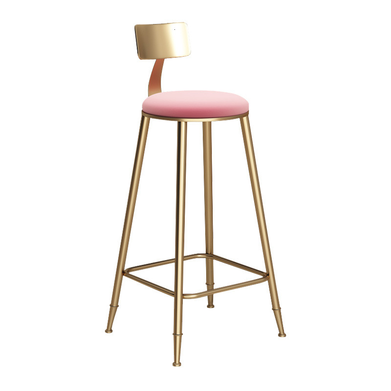 Nordic Marble Golden Bar Tables And Chairs Light Luxury Net Red Bar Chairs Bar Chairs High Chairs