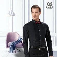 Черная Рубашка смокинг daro вечерние рубашки для свадьбы 2020