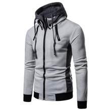 Marca de moda, conjunto para homem, pantalón com capucha de lana, cándal grueso e cálido, ropa deportiva com capucha, cándal