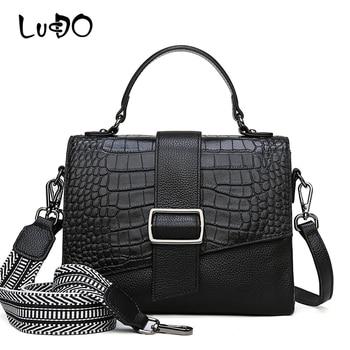 alligator Leather Luxury Handbags Fashion Crocodile pattern Top-handle Bags Quality Ladies Shoulder Messenger Crossbody Bag