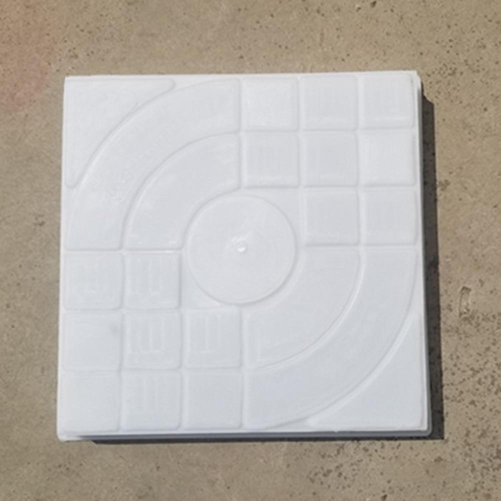 cheapest Garden Decoration DIY Path Maker Concrete Molds Cement Mold Concrete Cement Stone Walk Paving Paver Reusable Concrete Brick Mold