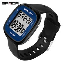 Sanda new men's electronic watch fashion simple student watc