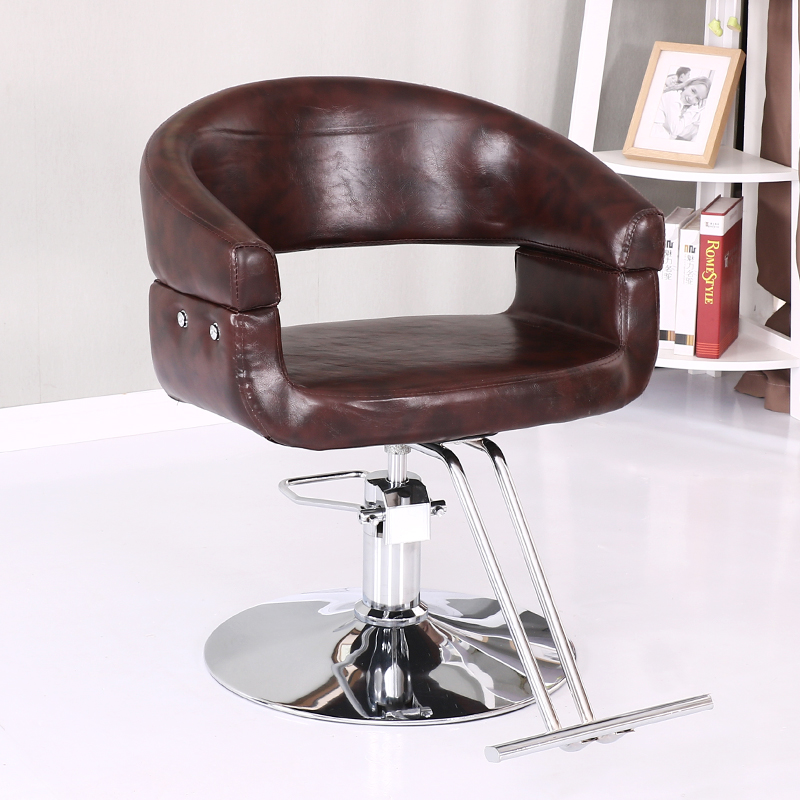 Beauty Salon Chair Hairdressing Chair Chair Lift Rotary Barber Chair Fashion Barber Shop Hair Salon Special Haircut Down