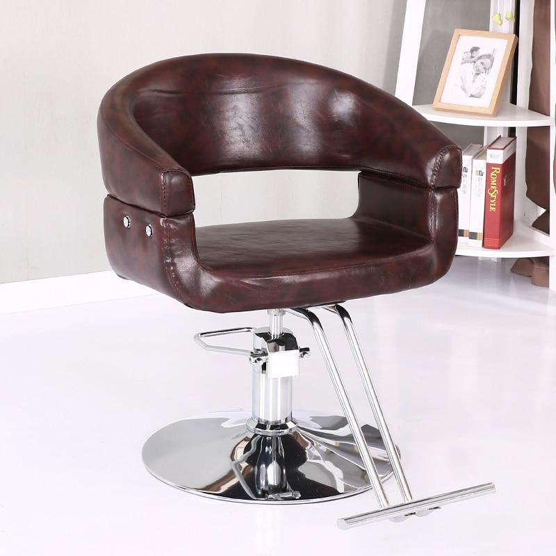 Beauty Salon Chair Hairdressing Chair Chair Lift Rotary Barber Chair Fashion Barber Shop Hair Salon Special Haircut Down