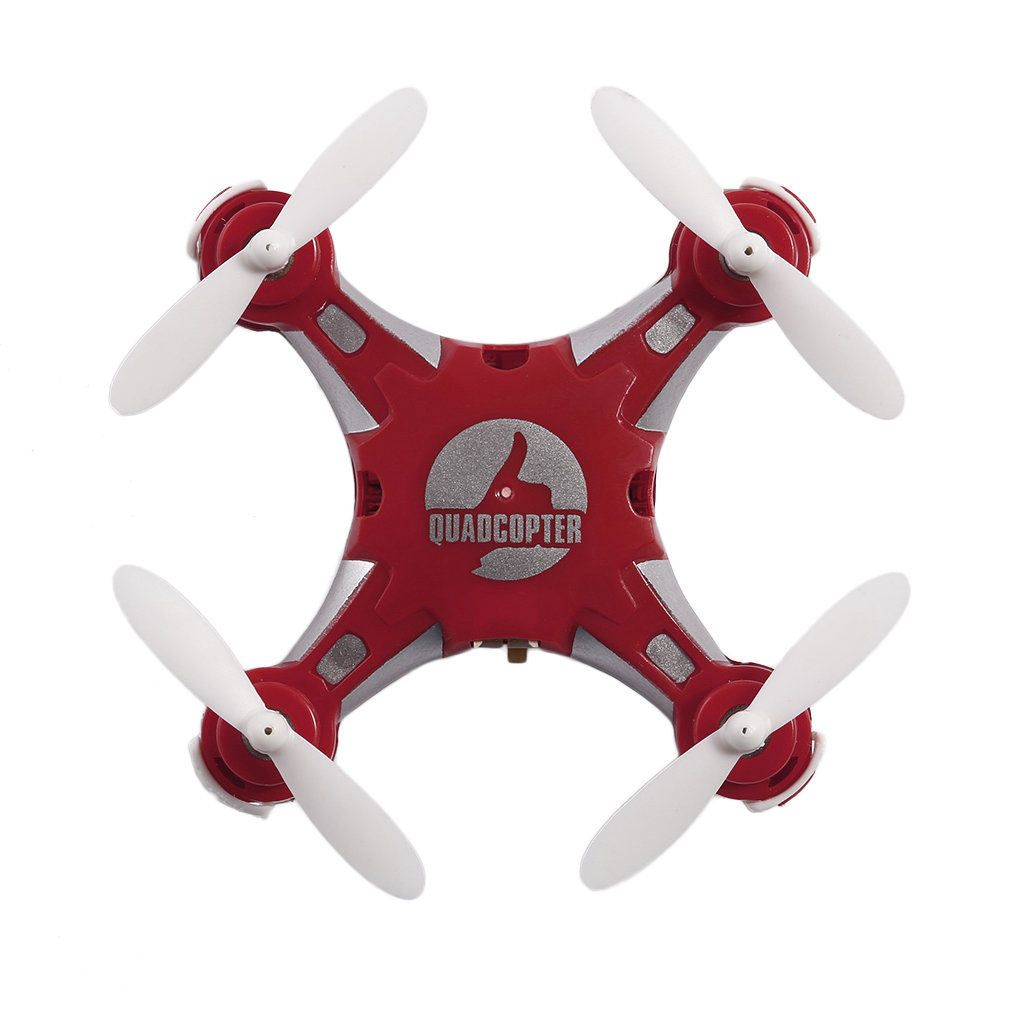 Rot <font><b>FQ777</b></font>-124 Mini Tragbare <font><b>Drone</b></font> 4 Kanal 6 Achse Gyro Mini Quadcopter Mit Umschaltbar Modus Controller RTF RC Spielzeug image