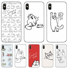 For ZTE Blade A910 A610 A530 A510 For Oneplus One plus 3T 5T 6T 6 7 7T Pro Simons Cat cute anime Silicone Cover Bag(China)
