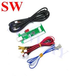 Image 4 - 2 игрока DIY аркадные наборы с USB кодировщиком PC Zippy джойстик с овальным шаром + кнопки + провода жгута для Android/ Raspberry Pi