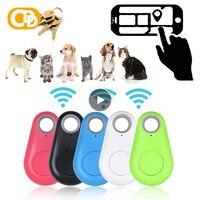 Anti-perso Mini allarme portafoglio Key Finder Smart Tag Bluetooth Tracer localizzatore GPS portachiavi Pet Dog Child Tracker Key Finder Hot