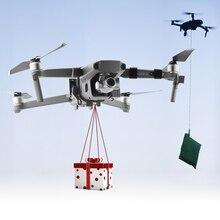 Airdrop Aria Sistema di Goccia per DJI Mavic 2 Pro Zoom Air 2 Drone Esche Da Pesca Anello di Cerimonia Nuziale Regalo di Consegnare La Vita di salvataggio Coperte E Plaid Coperte E Plaid er
