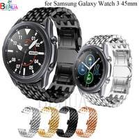 Correa de acero inoxidable para Samsung Galaxy Watch 3, 45MM, 46mm, Honor Magic, 22mm