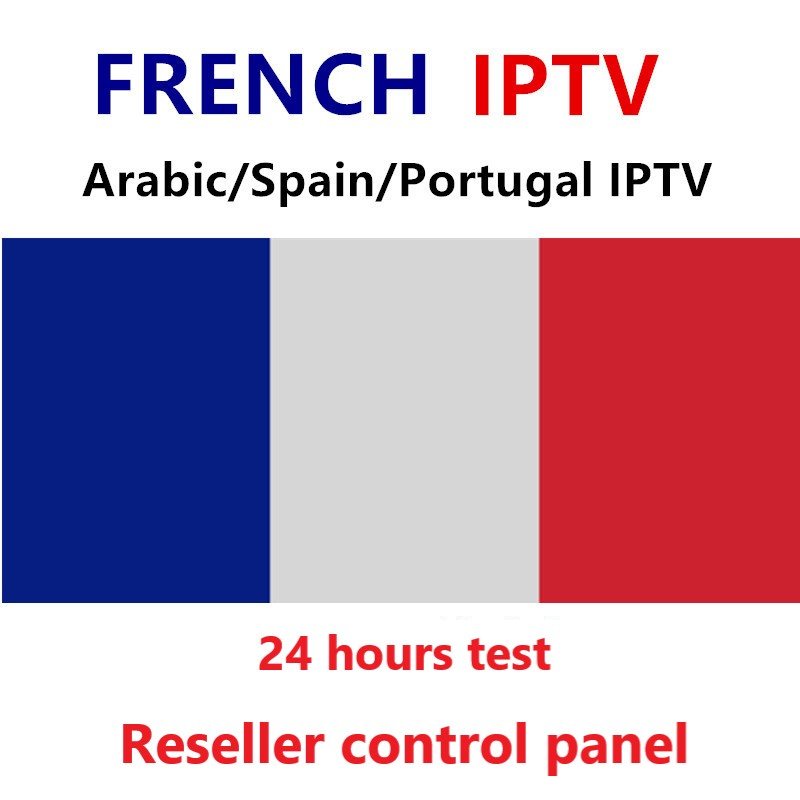 French IPTV Subscription France Spain italia Portugal IPTV Abonnement live channels for tv box android 9 Smart tv France Espana