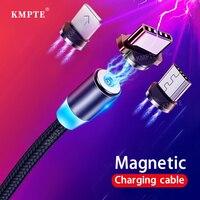 Cavo Micro USB magnetico 1M 2M USB tipo C per iPhone Samsung S20 telefono cellulare ricarica rapida cavo USB C magnete caricabatterie cavo