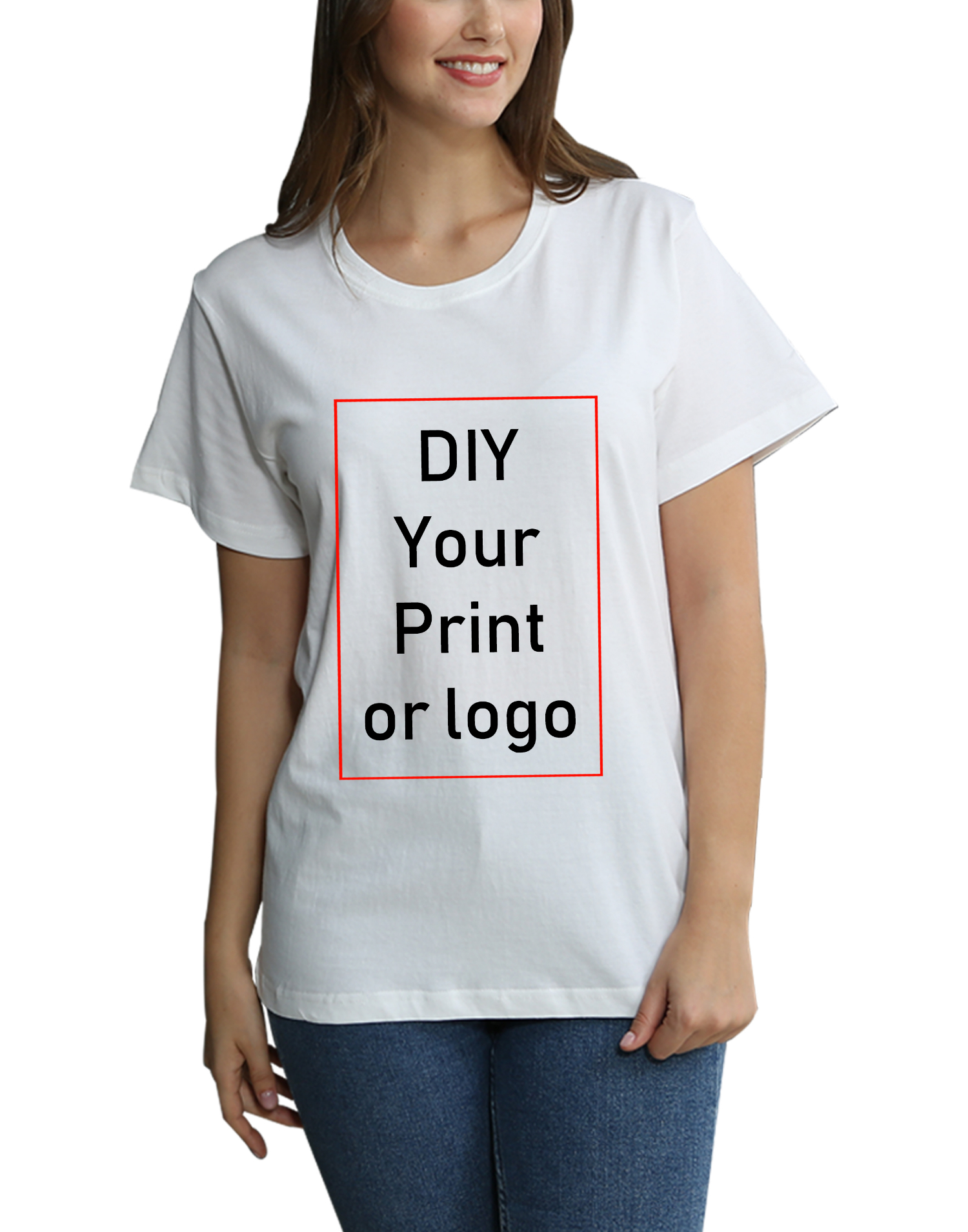 2020 Customized Print T Shirt Brand  Tees T-shirt Men's Boy's Clothes Women's Girl's DIY Photo Logo Casual Kid's Tshirt